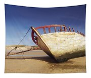 Marooned Boat Tapestry