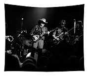 Marshall Tucker Winterland 1975 #12 Enhanced Bw Tapestry