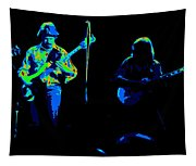 Marshall Tucker Winterland 1975 #18 Enhanced In Cosmicolors #2 Tapestry