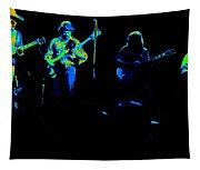 Marshall Tucker Winterland 1975 #18 Enhanced In Cosmicolors Tapestry