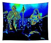 Marshall Tucker Winterland 1975 #18 In Special Cosmicolors Tapestry