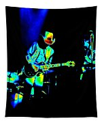 Marshall Tucker Winterland 1975 #23 Enhanced In Cosmicolors Tapestry
