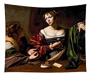 Martha And Mary Magdalen Tapestry