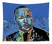 Martin Luther King Color Tapestry