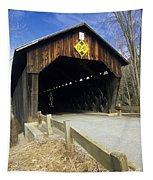 Martinsville Covered Bridge- Hartland Vermont Usa Tapestry