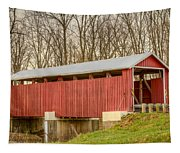 Martinsville Covered Bridge Tapestry