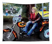 Marty's Harley Tapestry