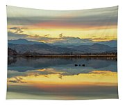 Marvelous Mccall Lake Reflections Tapestry