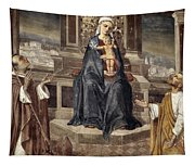 Mary And Baby Jesus Tapestry