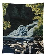 Mary Ann Falls On The Cabot Trail Tapestry