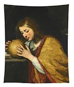 Mary Magdalene In Meditation  Tapestry