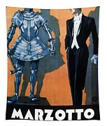 Marzotto - Italian Textile Company - Vintage Advertising Poster Tapestry