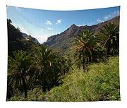 Masca Valley And Parque Rural De Teno 2 Tapestry
