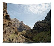Masca Valley Entrance 2 Tapestry