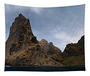Masca Valley Entrance Panorama Tapestry