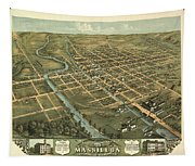 Massillon Ohio 1870 Tapestry