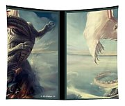 Massive Dragon - Gently Cross Your Eyes And Focus On The Middle Image Tapestry