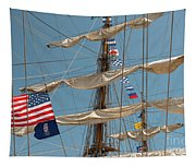 Mast Flags Tapestry