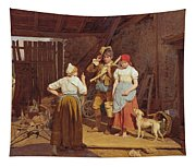 Maternal Admonition Tapestry