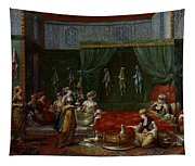 Private Chamber Of An Aristocratic Turkish Woman Tapestry