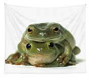 Mating Frogs Tapestry