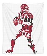 Matt Ryan Atlanta Falcons Pixel Art 5 Tapestry
