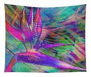 Maui Bird Of Paradise Tapestry