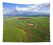 Maui Sugar Cane Tapestry