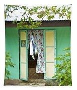 Maupiti Doorway Tapestry