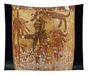 Mayan Priest 700-900 Ad Tapestry