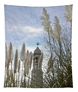 Mayflower Memorial Through The Pampas Grass Tapestry