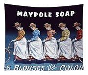 Maypole Soap Retro Vintage Ad 1890's Tapestry