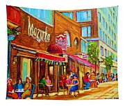 Mazurka Cafe Tapestry