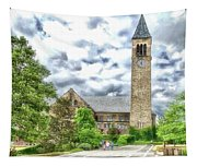 Mcgraw Tower Cornell University Ithaca New York Pa 10 Tapestry