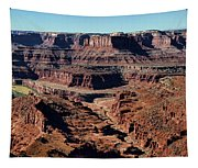Meander Overlook - Dead Horse Point - Panorama Tapestry