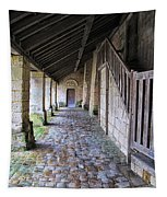 Medieval Church Entrance Tapestry