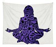 Meditate Ultraviolet Tapestry