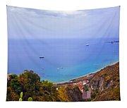 Mediterranean View Tapestry