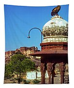 Mehrangarh Fort - Approach With Caution Tapestry