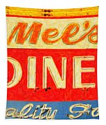 Mels Diner Tapestry by Wingsdomain Art and Photography