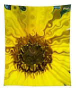 Melting Sunflower Tapestry