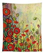 Memories Of Grandmother's Garden Tapestry