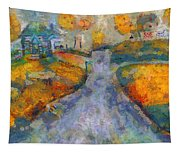Memories Of Home In Autumn Tapestry