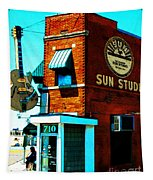 Memphis Sun Studio Birthplace Of Rock And Roll 20160215sketch Tapestry
