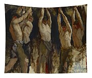 Men At An Anvil, Study For The Spirit Of Vulcan Tapestry
