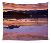 Mendenhall Sunset Tapestry