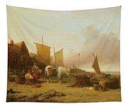 Mending Nets Tapestry