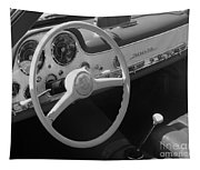 Mercedes 300sl Dashboard Tapestry