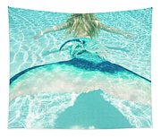 Mermaid Escape 2 Tapestry