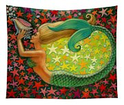Mermaid's Circle Tapestry